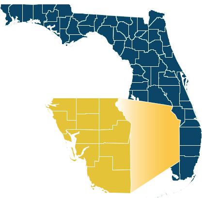 SWFL Region 1 Map