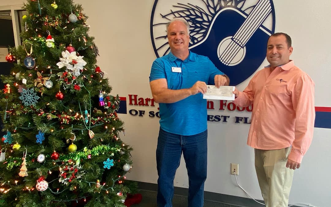 RV Association Donates Funds to Harry Chapin Food Bank